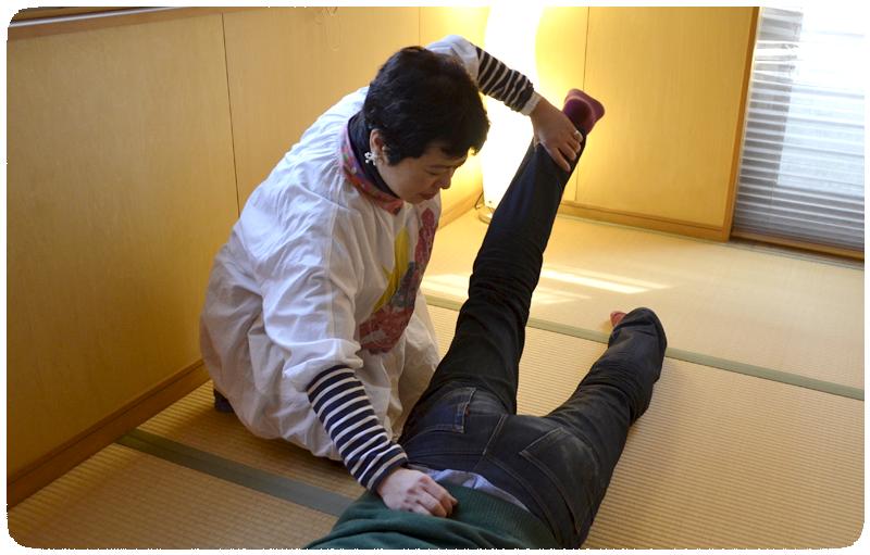 動作療法の施術